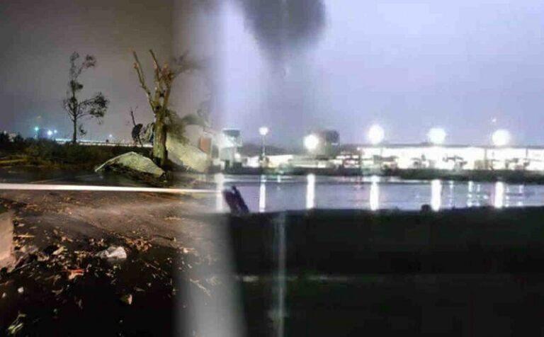 Meteogiornale: immagini e danni causati dal tornado che si è abbattuto su Catania